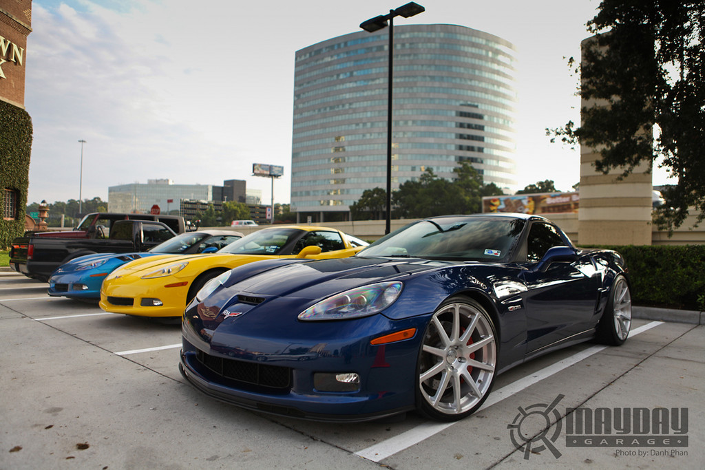 These rims work really well with this Z06, Prestige Jason doing it right.