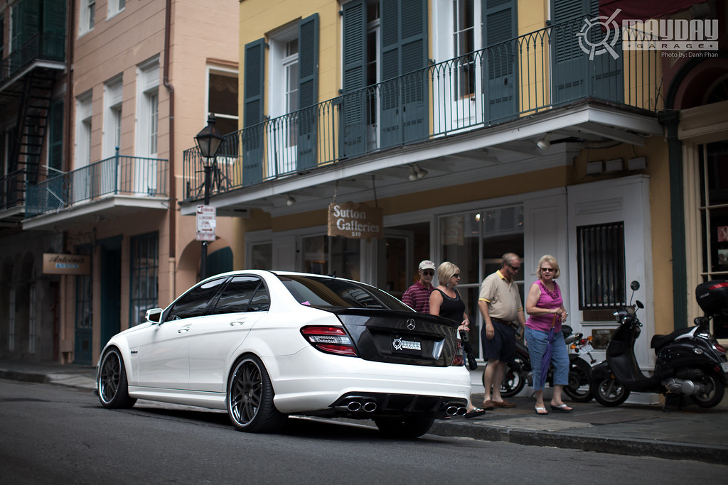 New Member: 2010 Artic White C63 AMG
